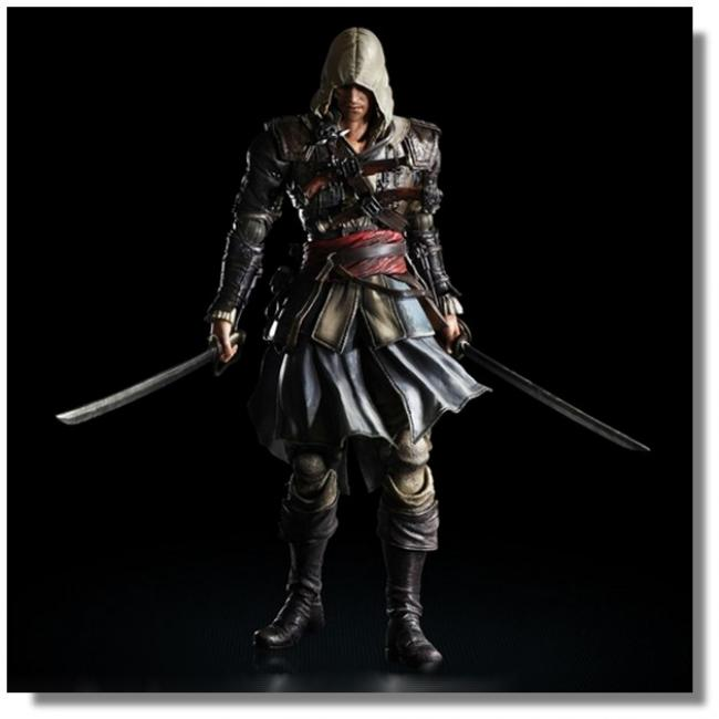Edward Kenway Play Arts Kai Action Assassin s Creed IV Figure