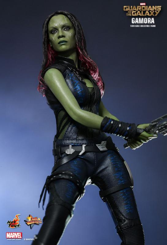 Zoe Saldana As Gamora The Guardians of the Galaxy Sixth Scale Collectible Figure