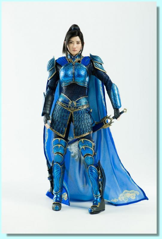 Jing Tian (景甜) As Commander Lin Mae Sixth Scale Collectible Figure