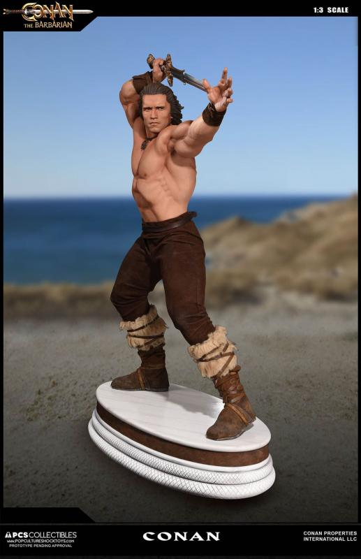 Conan the Barbarian Third Scale Collectible Statue