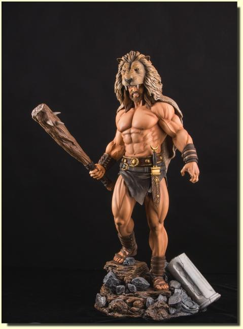 Hercules Twelve Labours Hero Fourth Scale Statue