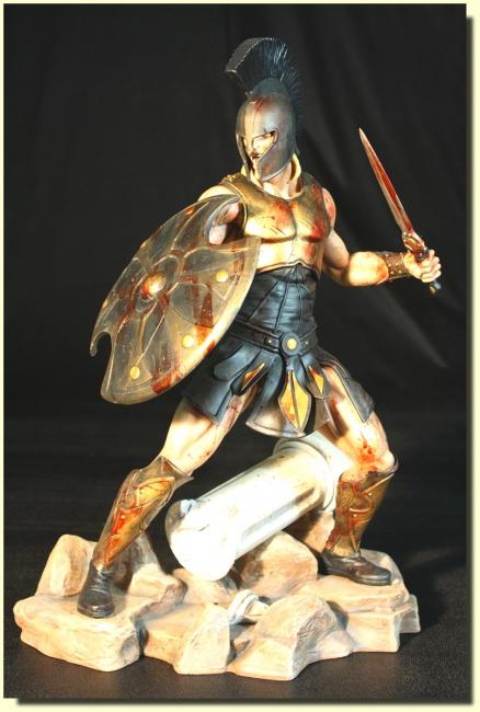 Achilles The Battle Fury Combat Statue