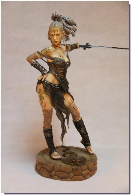 Yelena Gypsy Black Ritual Luis Royo The Fantasy Figure Gallery Statue