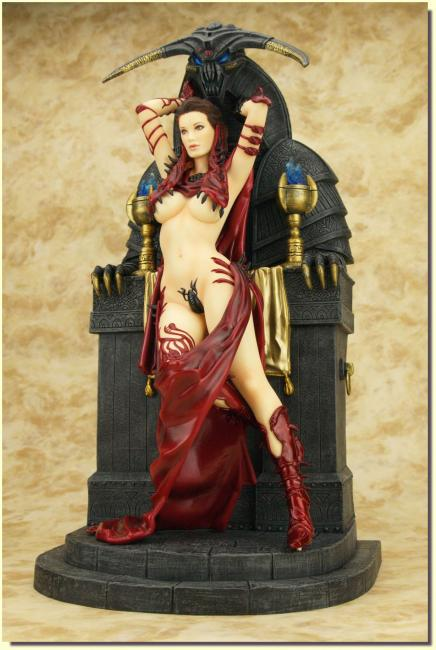 The Sacrifice Beauty Fantasy Figure Gallery Dorian Cleavenger Exclusive Statue