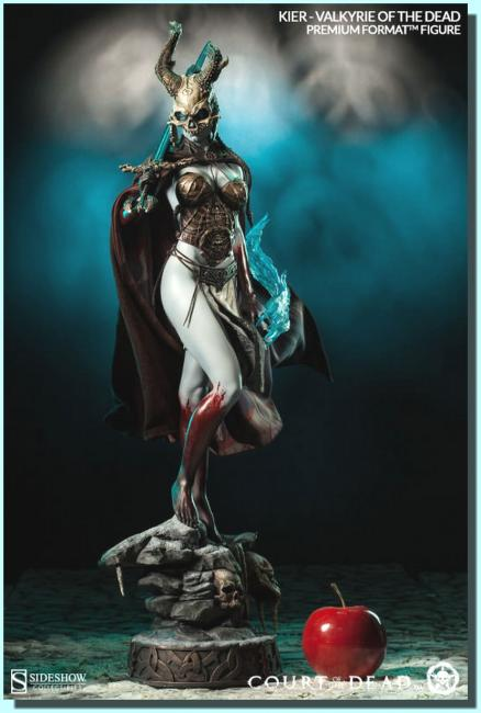 Kier The Valkyrie of the Dead Premium Format Figure