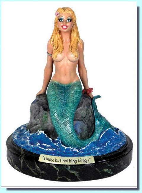 Mermaid Collectible Statue