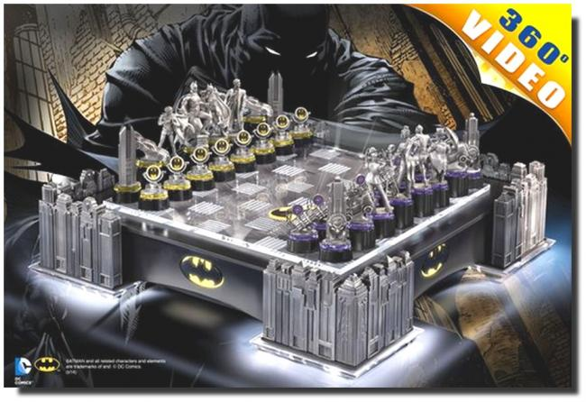Batman Ultimate Collectors Chess Set šachovnice