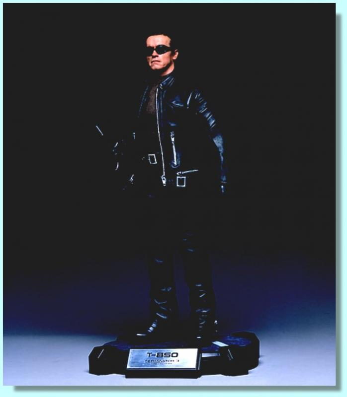 Arnold Schwarzenegger As The Terminator T-850 Third Scale Cinemaquette
