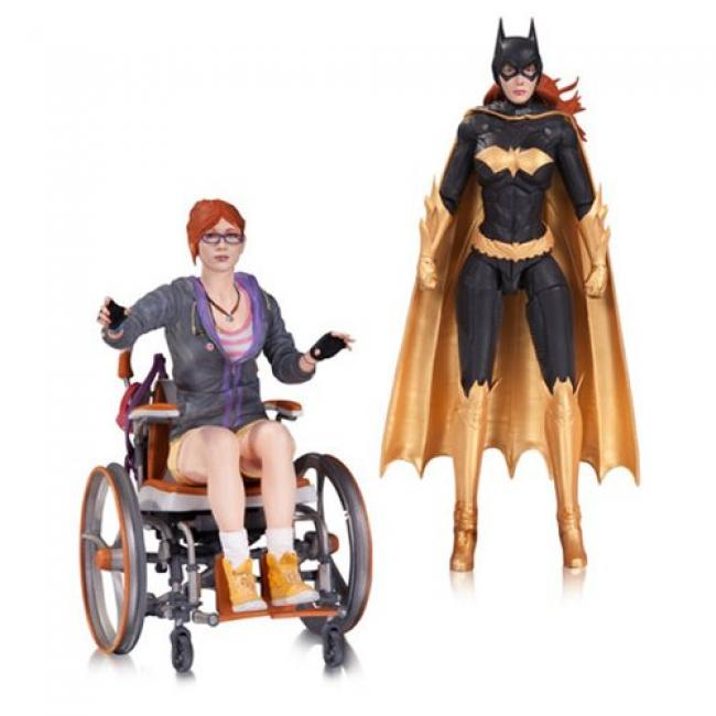 Batgirl & Oracle The Arkham Knight Action Figure Set