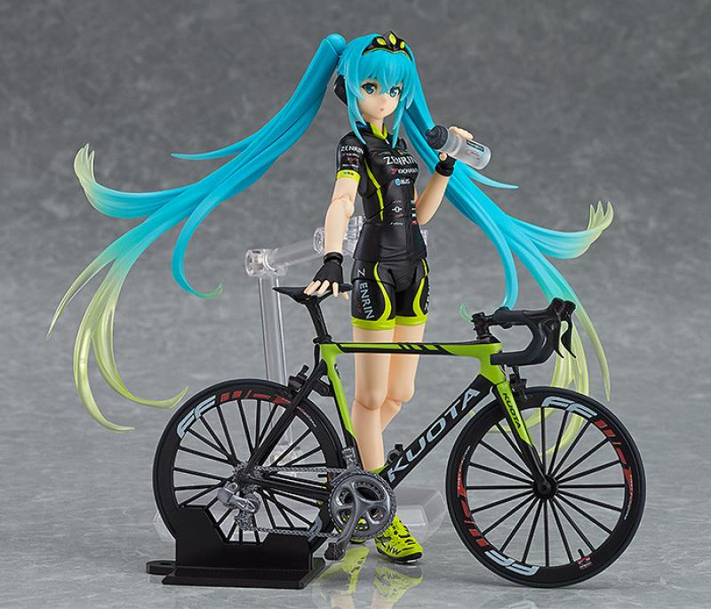 Racing Miku 2015 TeamUKYO Support And Bicycle figma Figure Set