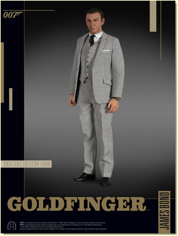 Sean Connery As James Bond 007 The Goldfinger Sixth Scale Collector Figure