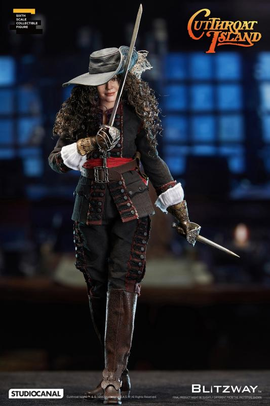 Geena Davis As Morgan Adams The Cutthroat Island Sixth Scale Collectible Figure