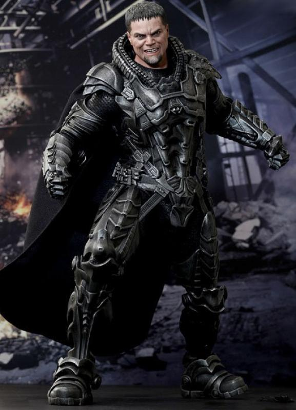 Michael Shannon As General Zod The Man of Steel Sixth Scale Collectible Figure