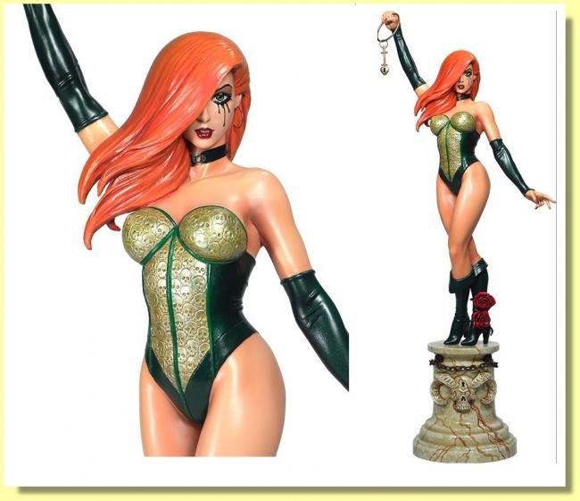 Dawn Girl The Green Corset Sixth Scale Statue