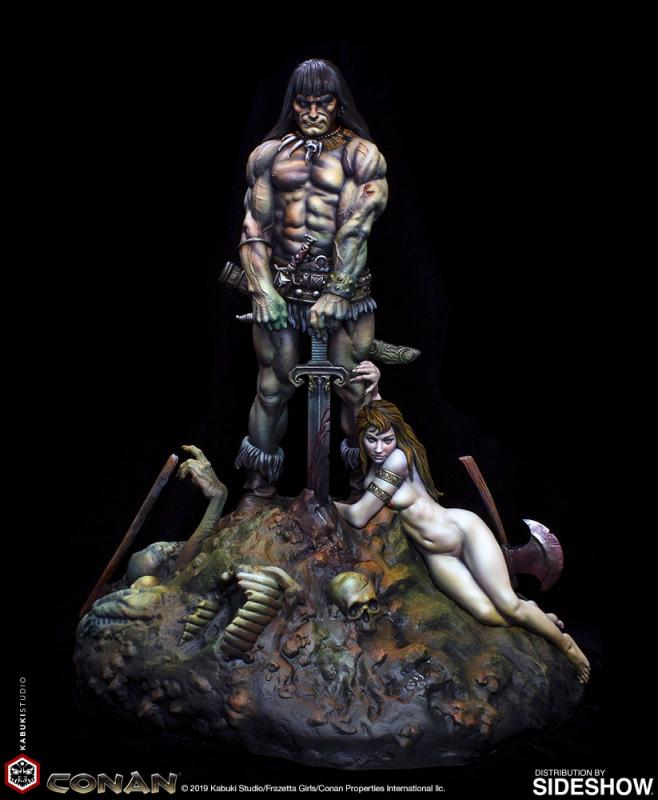 Conan the Barbarian Premium Quarter Scale Statue