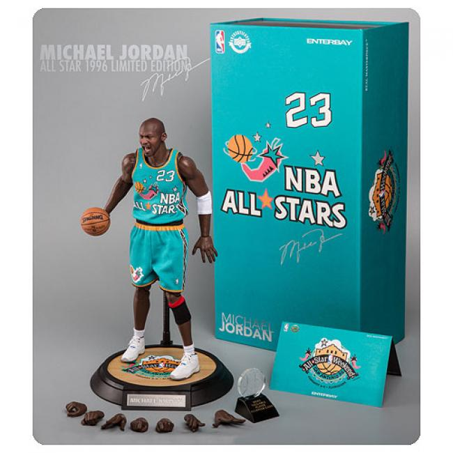 Michael Jordan 1996 All-Star Game NBA Real Masterpiece Sixth Scale Figure