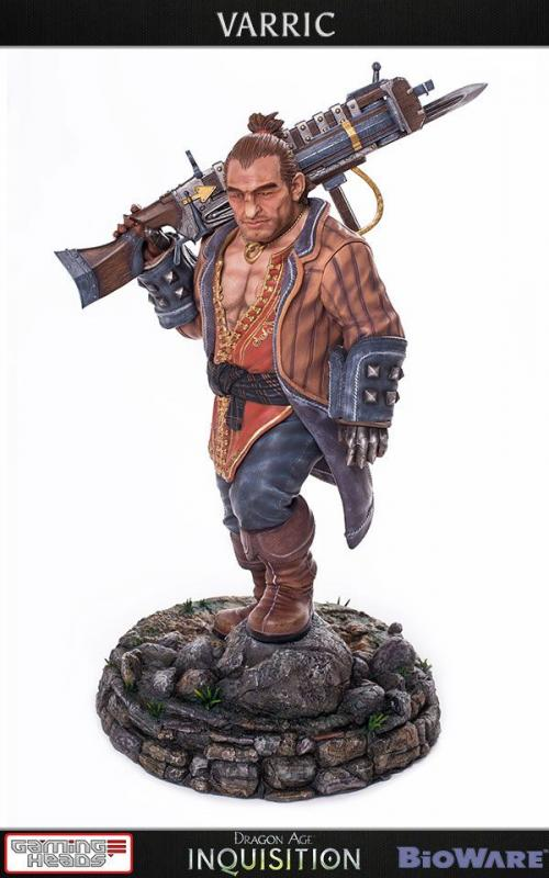 Varric The surface Dwarf Dragon Age Quarter Scale Statue