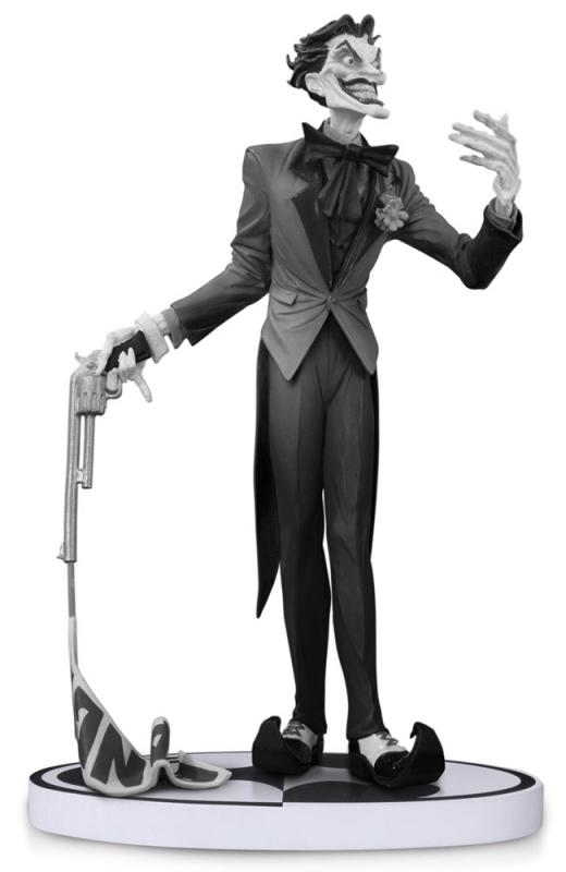 Joker Black & White Jim Lee 2nd Edition Statue