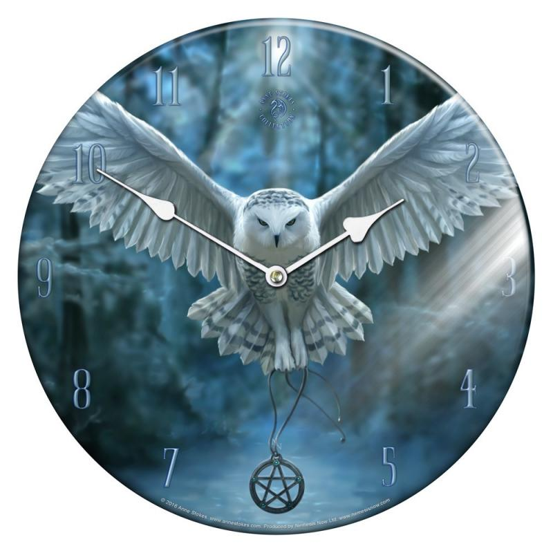 Awaken Your Magic Glass Wall Clock nástěnné hodiny