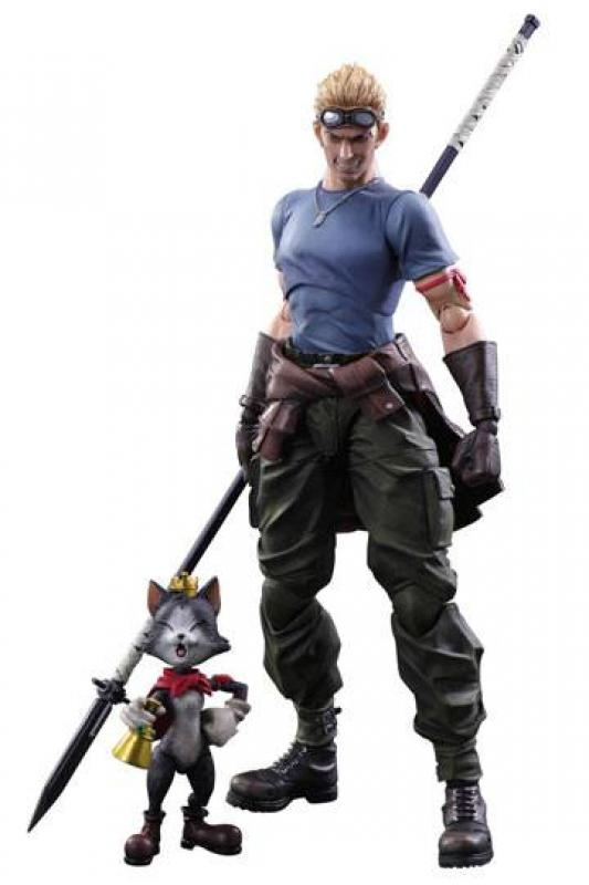 Cid Highwind & Cait Sith Play Arts Kai Action Figure Set