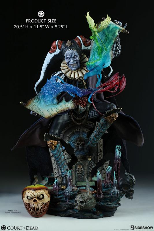 Malavestros The Deaths Chronicler-Fool Premium Format Figure