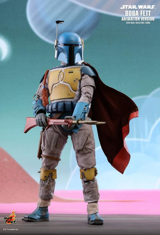 Boba Fett Animation Special Star Wars Sixth Scale Collectible Figure Hvězdné války