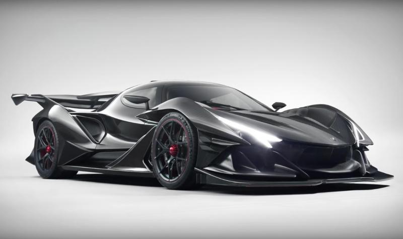 5000HP DEVEL SIXTEEN / WORLDS FASTEST CAR concept (infoflash)