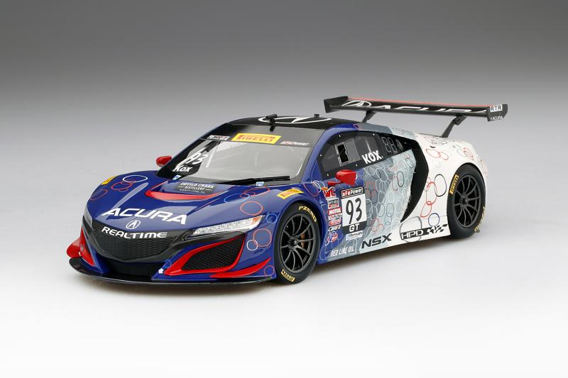 Acura NSX GT3 No. 93 Racing Livery 1/18 Die-Cast Vehicle