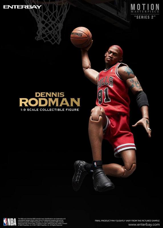 Dennis Rodman NBA Collection Motion Masterpiece Collectible Figure
