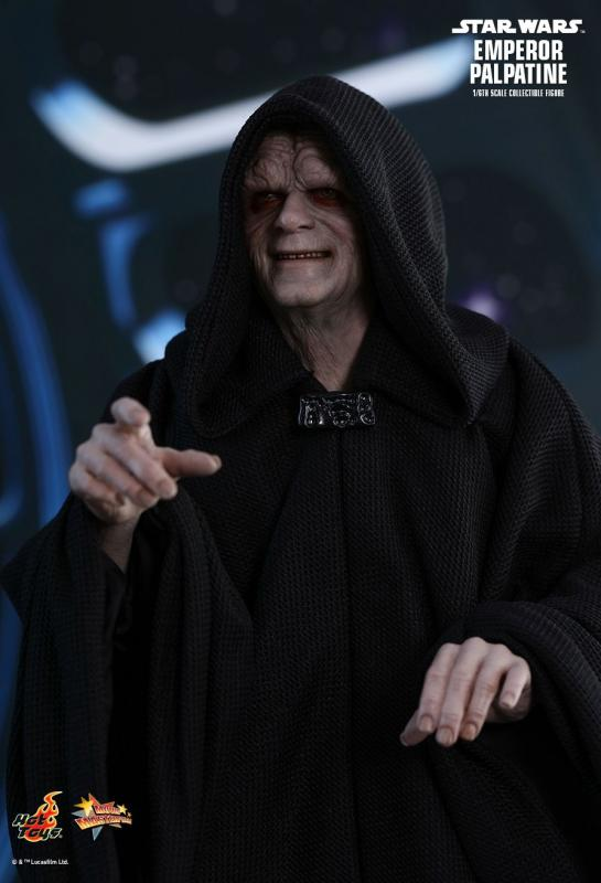 Emperor Palpatine Star Wars Sixth Scale Collectible Figure Hvězdné války