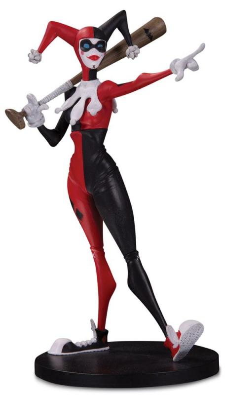 Harley Quinn Hainanu Nooligan Saulque DC Artists Alley Statue