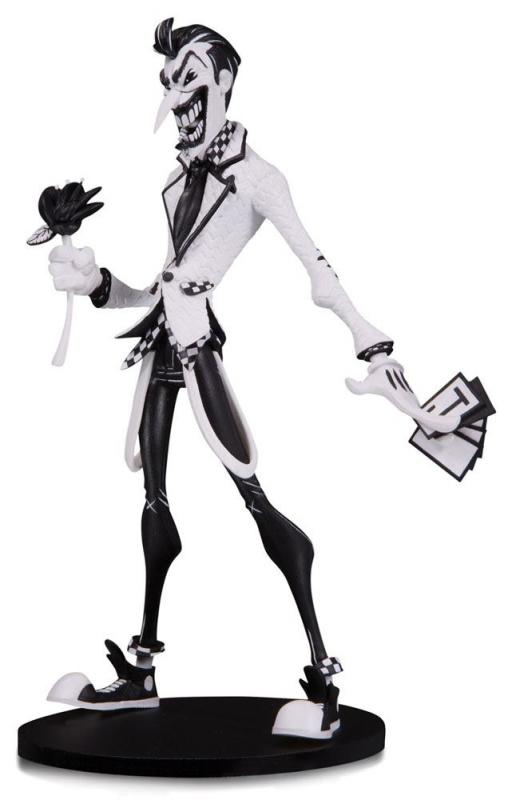 The Joker Hainanu Nooligan Saulque DC Artists Alley Black & White Statue