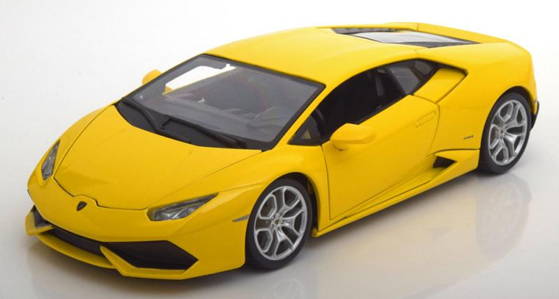 Lamborghini Huracán LP 610-4 Giallo 1/18 Die-Cast Vehicle