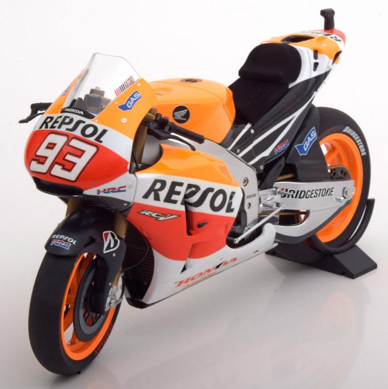 Honda RC 213V No. 93 Moto GP 2014 Winner 1/12 Motorcycle Vehicle