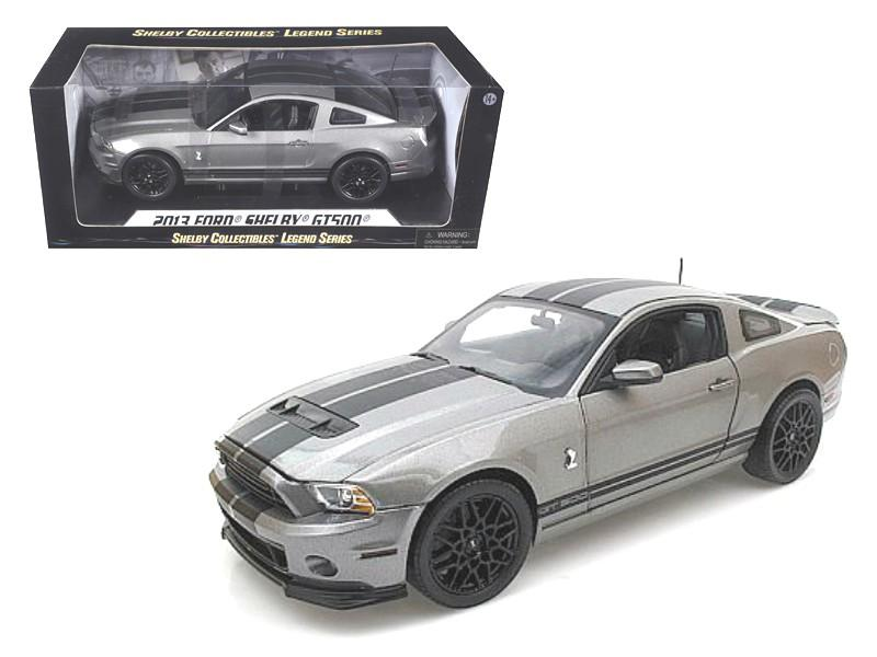Ford Shelby GT500 2013 Grey 1/18 Die-Cast Vehicle