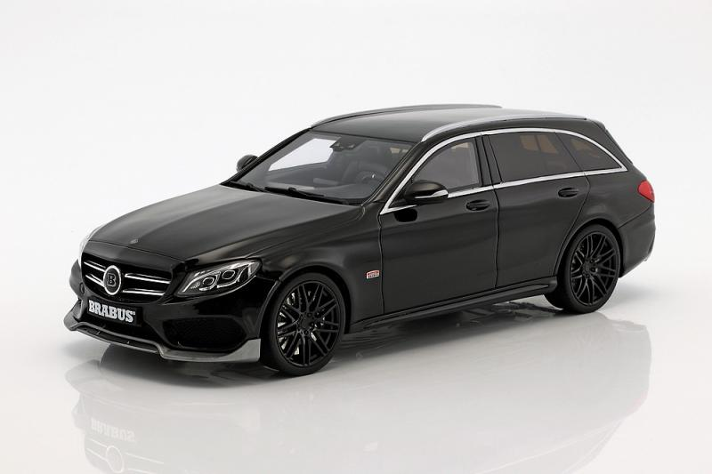 BRABUS Mercedes C-Klasse B25 T-Model 2016 Black 1/18 Die-Cast Vehicle
