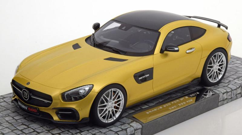 BRABUS Mercedes 600 AMG GT S Gold Metallic 1/18 Die-Cast Vehicle