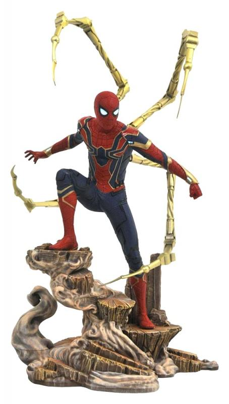 Iron Spider-Man The Avengers Infinity War Movie Gallery Statue Diorama
