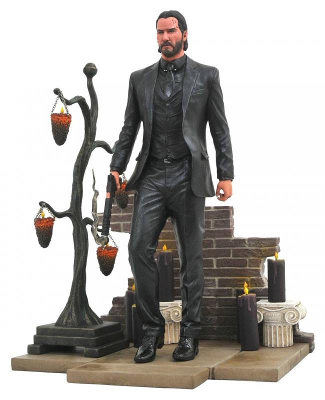 John Wick Chapter 2 Gallery PVC Statue Diorama