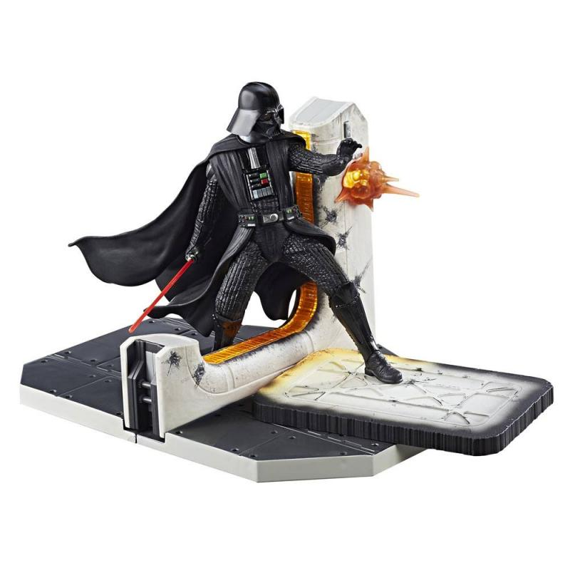 Darth Vader Black Series Centerpiece Action Figure Diorama hvězdné války