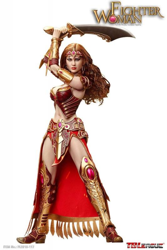 Fighter Woman The Amazone Sixth Scale Collector Figure
