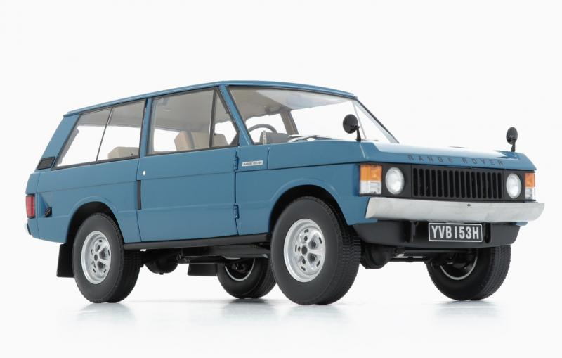Land Rover Range Rover 1970 Tuscan Blue 1/18 Die-Cast Vehicle
