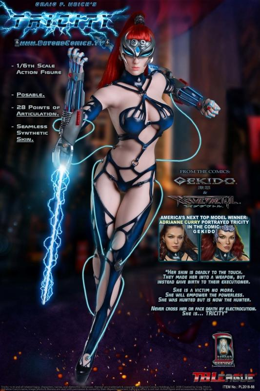 Tricity The Goddess of Lightning Sixth Scale Collector Figure