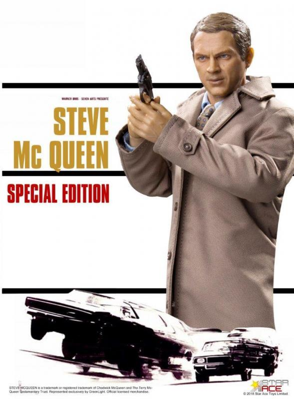 Steve McQueen The Great Escape Special Sixth Scale Collectible Figure