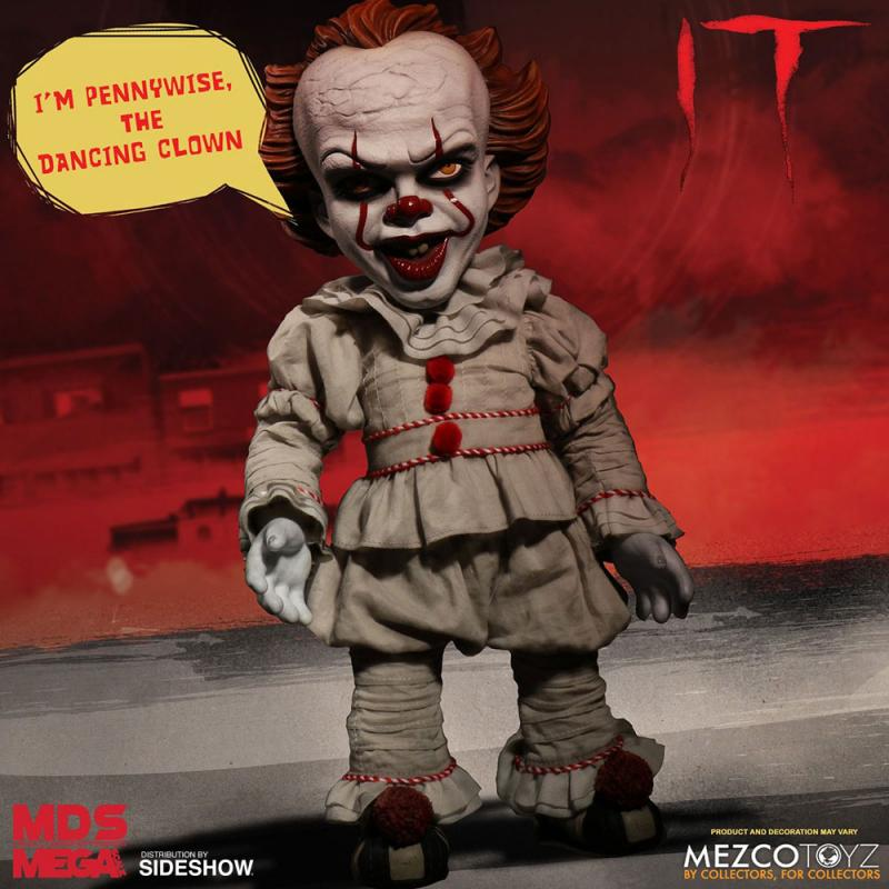Talking Pennywise The Dancing Clown M.D.S. Designer Mega Scale Figure