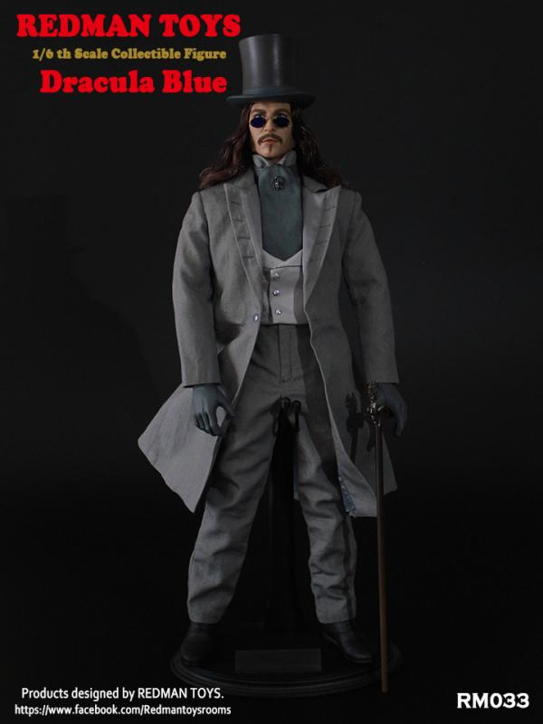 Dracula In Blue Sixth Scale Collector Figure