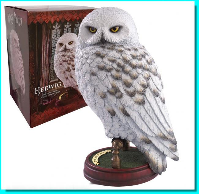 Hedwig Harry Potters Owl Resin Statue