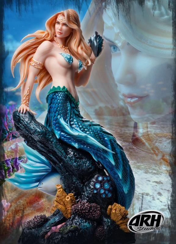 Sharleze The Mermaid ComiX Exclusive Quarter Scale Statue
