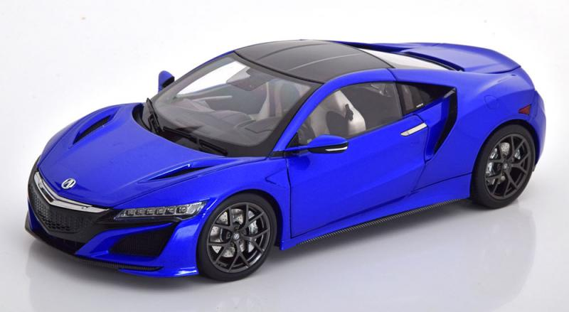 Honda Acura NSX Carbon Blue Metallic 1/18 Die-Cast Vehicle