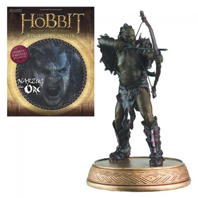 Narzug the Orc Figure with Collector Magazine 7
